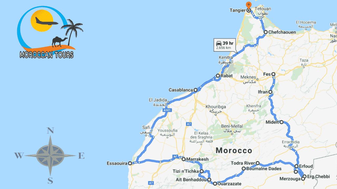 Morocco / Marruecos / Marrocos / Marocco, Tour / ruta / viagem / viaggio, itinerary / itinerario : Fes 7 Days / Dias / Giorni /