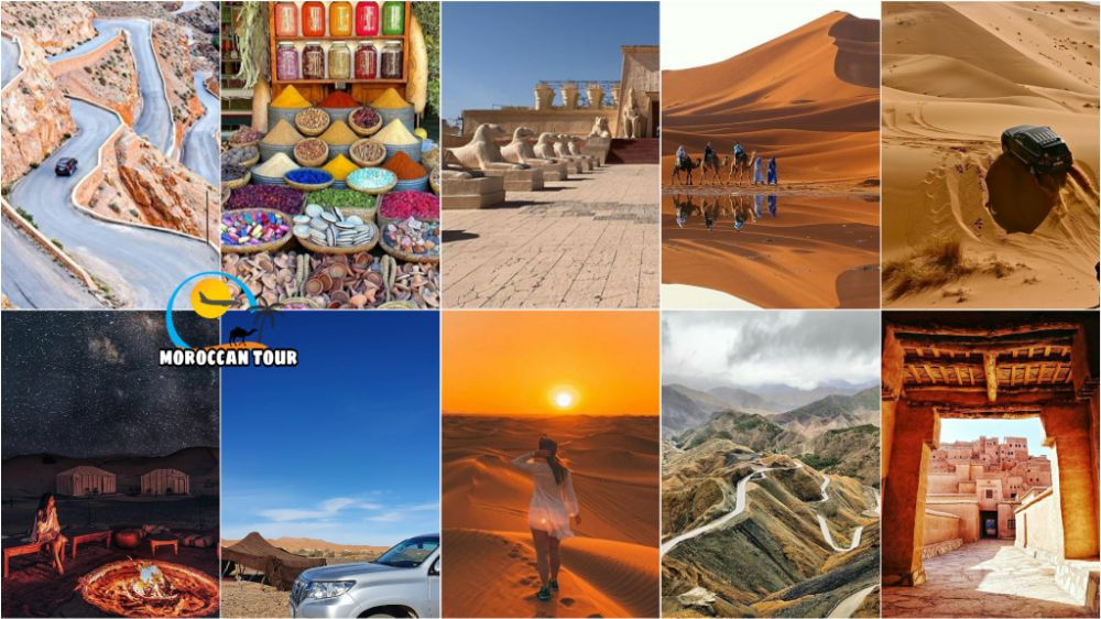 5 days tour in Morocco from Marrakech