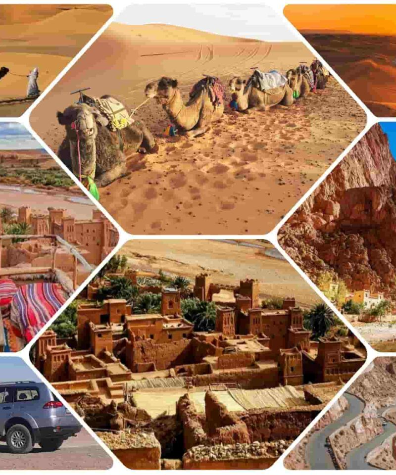 3 Days Marrakech to Fes Desert Tour