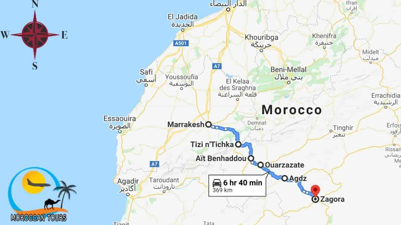 Morocco / Marruecos / Marrocos / Marocco, Tour / ruta / viagem / viaggio, itinerary / itinerario : 2 Days / Dias / giorni / Zagora