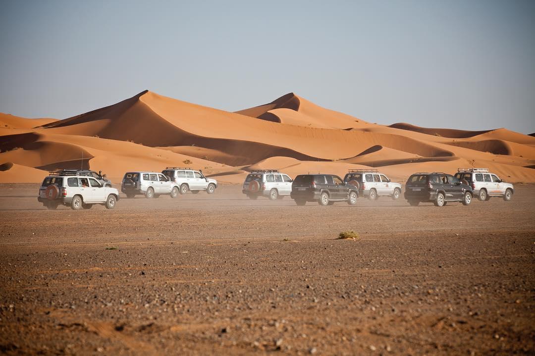 Ruta de 7 Días desde Tánger al desierto y Marrakech
