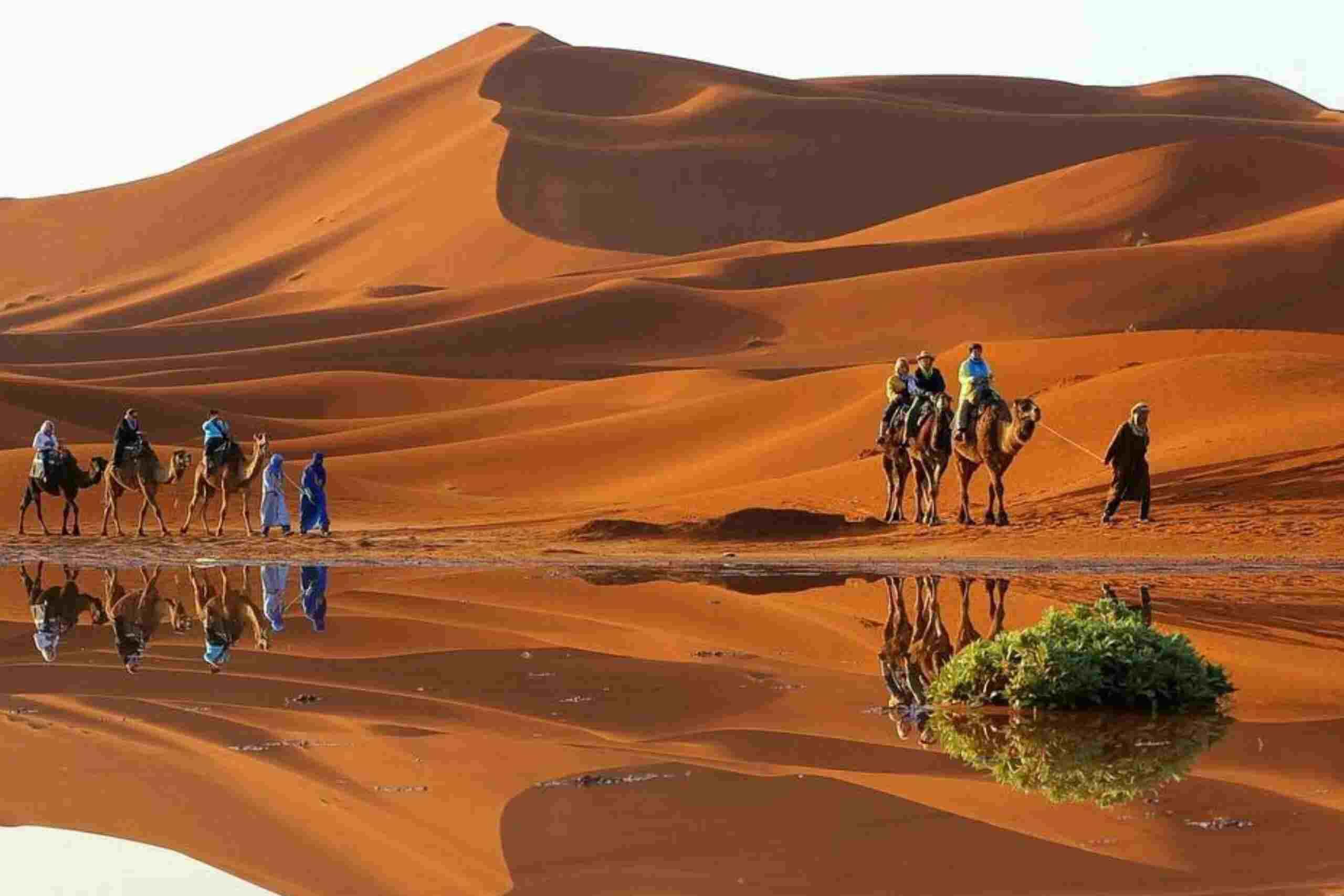 Ruta de 3 días por el desierto del Sahara desde Fez