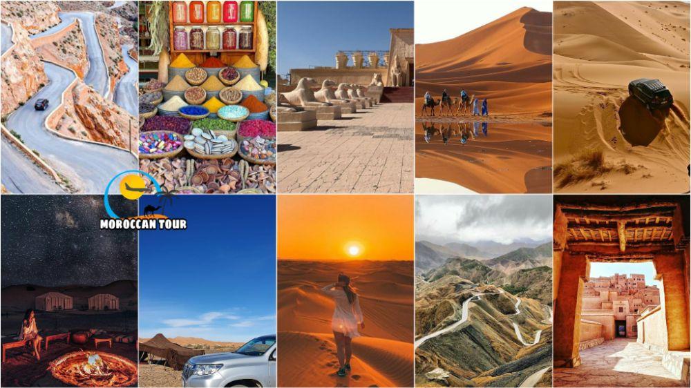 5 dias de viagem a Marrocos