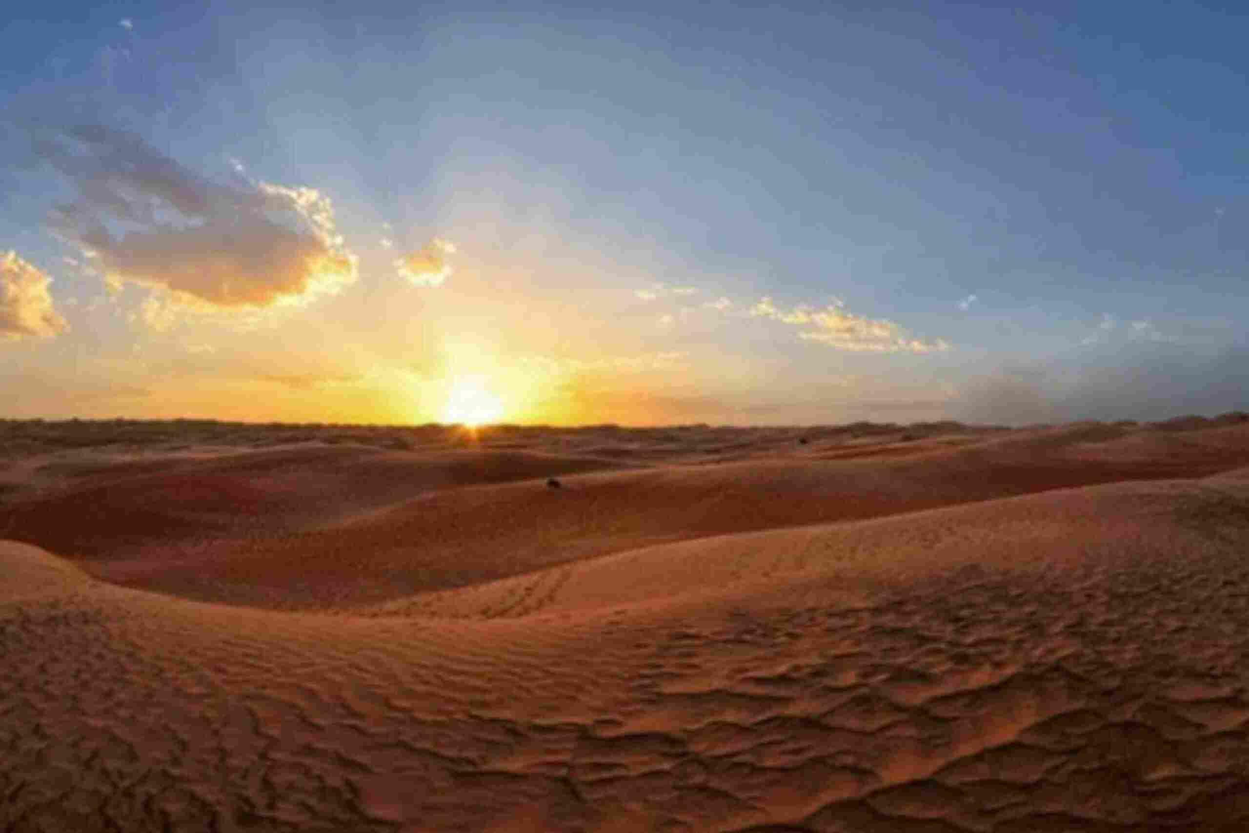 viagem de 3 dias pelo deserto