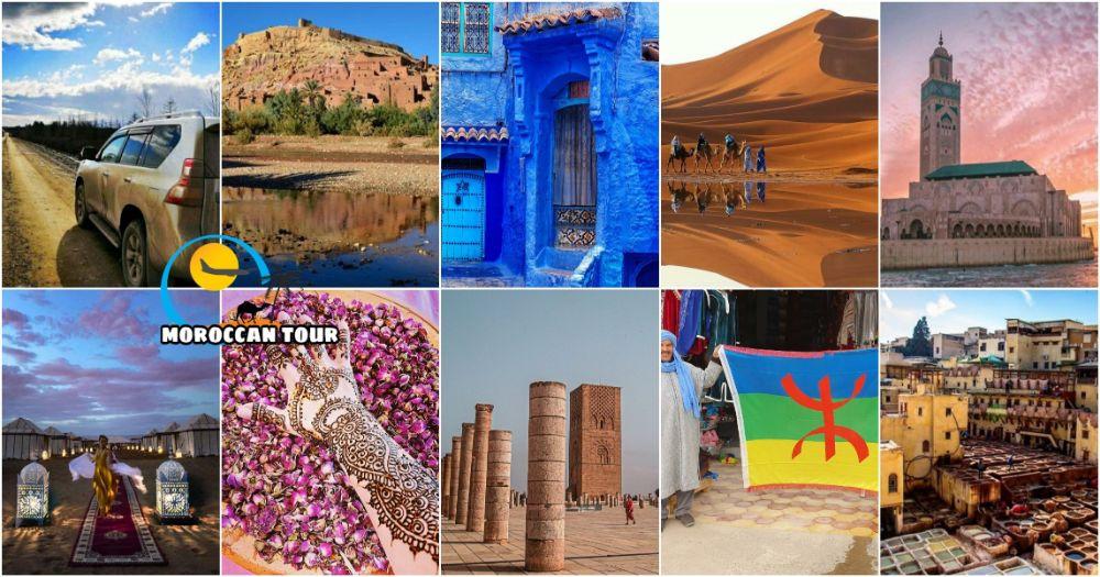 Viaggio di 10 Giorni in Marocco