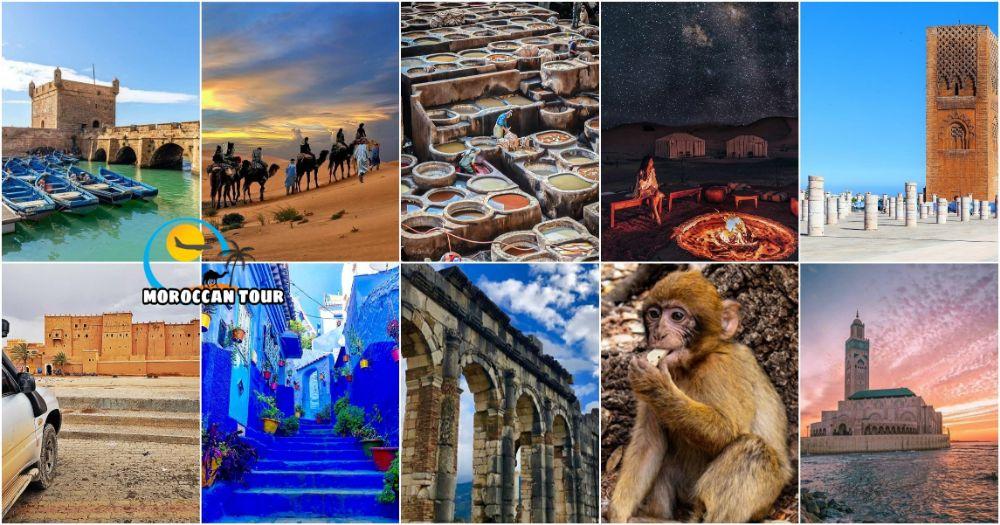 12 Dias de Viagem em Moroccos de Casablanca
