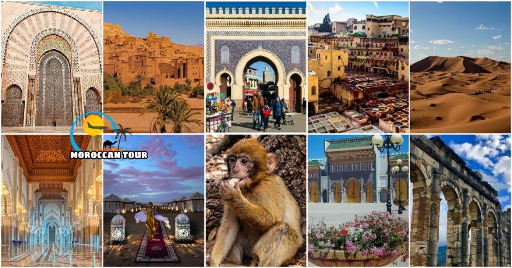 Tour di 6 giorni in Marocco da Casablanca