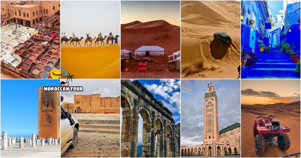tour de 8 dias em Marrocos