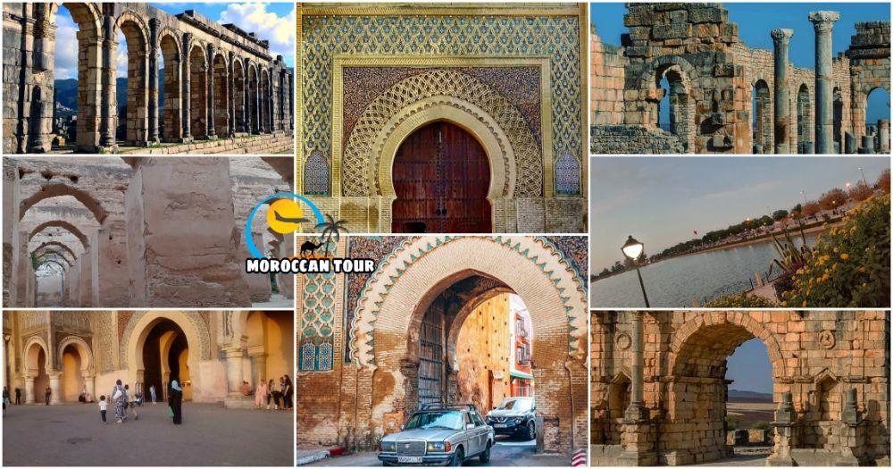 Escursione a Meknes e Volubilis di un Giorno da Fez