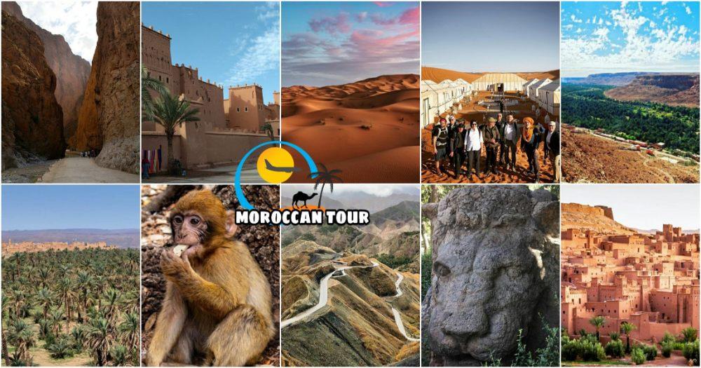 Viagem de 2 Dias de Fez a Marrakech através do Deserto