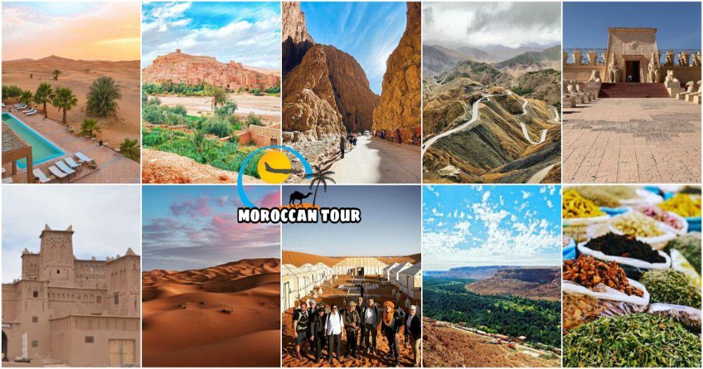 Ruta de 3 días desde Fez a Marrakech a través del desierto