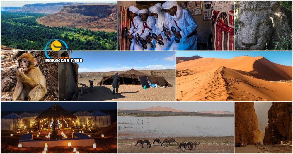 Viagem de 4 Dias ao Deserto do Marrocos