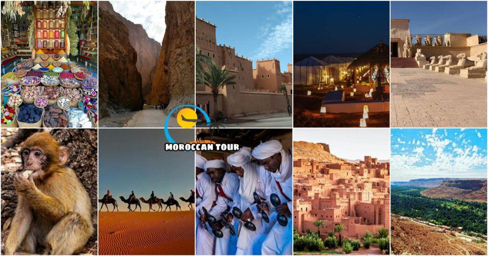 Tour di 5 giorni da Fez a Marrakech attraverso il deserto