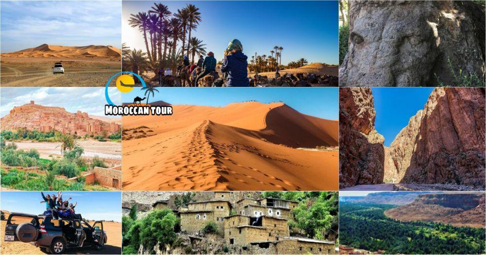 Viagem de 3 dias de Marrakech a Fez através do deserto de Saara