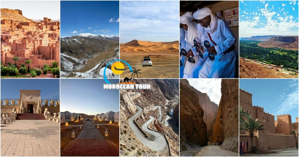 4 Days Marrakech to Fes Desert Tour in Morocco