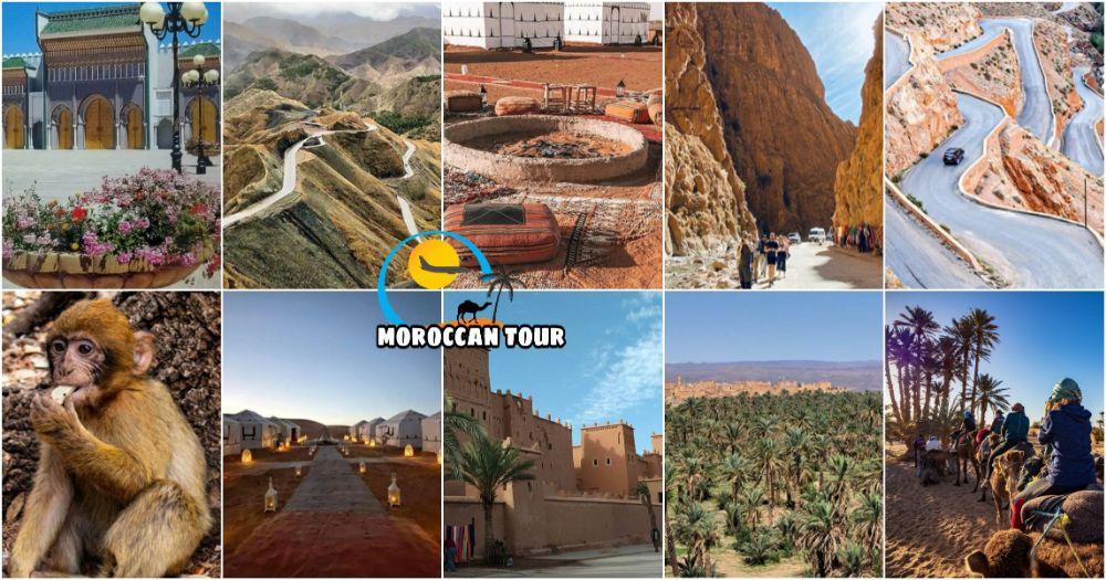 Viagem de 6 Dias de Marrakech a Fez através do Deserto