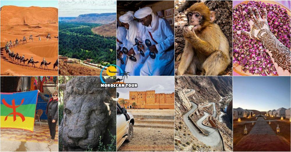 Viaje de 3 Días por el Desierto desde Ouarzazare a Fez
