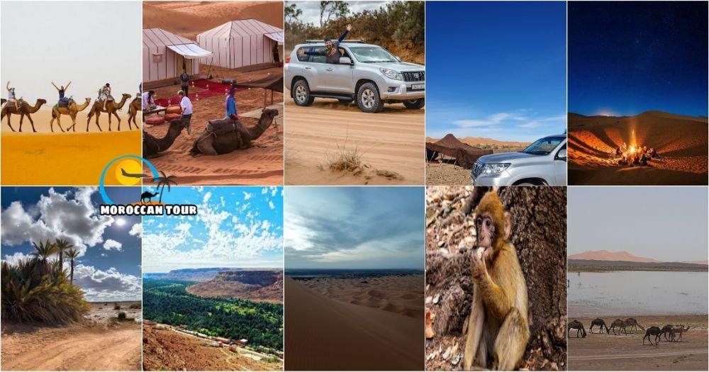 Tour de 3 Días por el Desierto de Marruecos y Fez