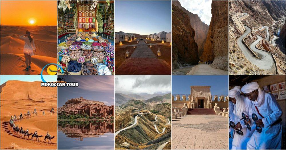 Viaggio di 4 Giorni del Deserto e Marrakech da Errachidia