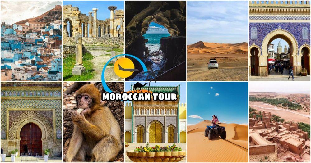 Tour del Deserto Marocco 5 Giorni da Tangeri
