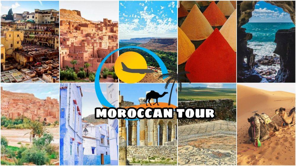 Tour di 6 Giorni da Tangeri in Marocco