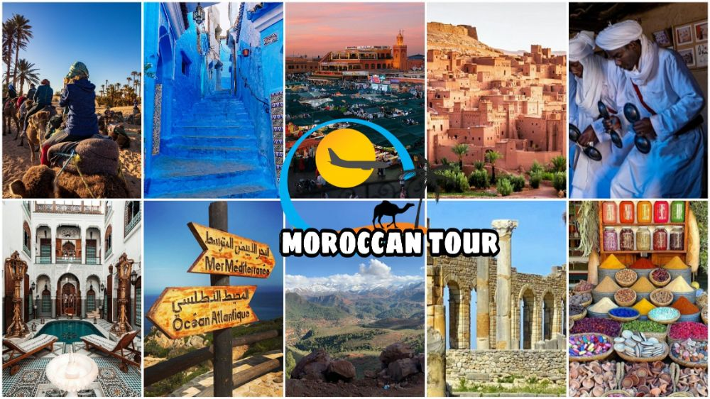 Roteiro de 7 Dias de Tânger para o Deserto e Marrakech