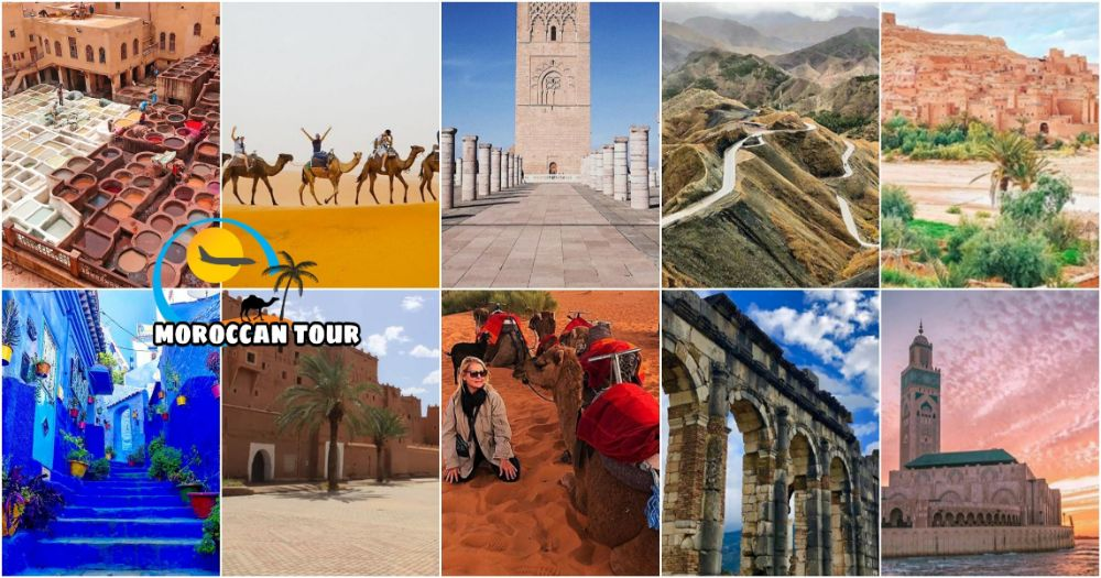7 days In Morocco Itinerary from Casablanca ( One Week )