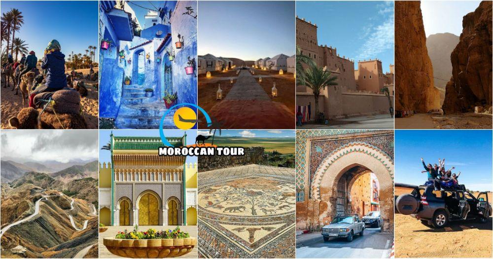 Tour de 8 días en Marruecos desde Marrakech